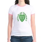 'Irish at Heart' Jr. Ringer T-Shirt