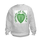 'Irish at Heart' Kids Sweatshirt