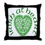 'Irish at Heart' Throw Pillow