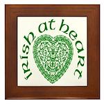 'Irish at Heart' Framed Tile