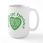 'Irish at Heart' Large Mug