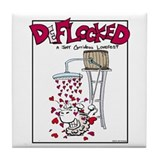 Mamet Hearts Tile Coaster