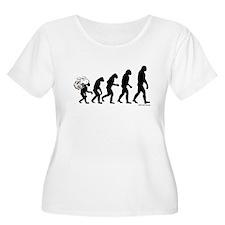DeVolution Women's Plus Size Scoop Neck T-Shirt