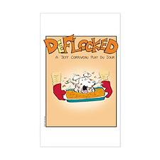 Mamet Lasagna Sticker (Rectangle)