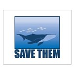 Save The Whales Small Poster