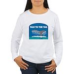 Whale Women's Long Sleeve T-Shirt