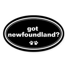 Got Newfoundland? Oval Decal