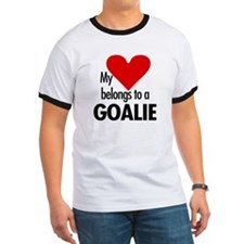 Heart belongs, goalie T