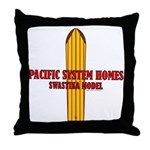 Pacific Systems Homes Throw Pillow