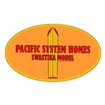 Pacific Systems Homes Oval Sticker