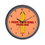 Pacific Systems Homes Wall Clock