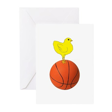 Basketball Chick Greeting Cards (Pk of 10)