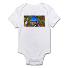 Tropical Paradise Art Infant Bodysuit