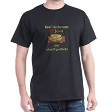 Jesus and Church Potlucks T-Shirt