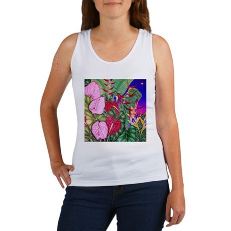Tropical Paradise Art Women's Tank Top
