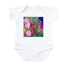 Tropical Paradise Art Infant Bodysuit
