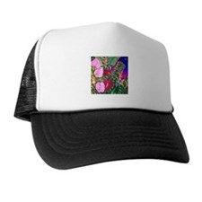 Tropical Paradise Art Trucker Hat