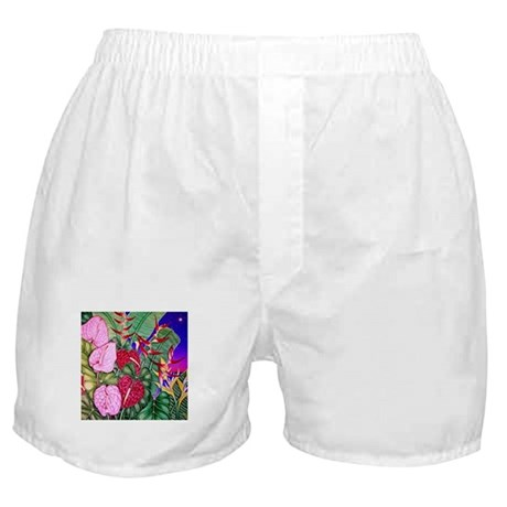 Tropical Paradise Art Boxer Shorts