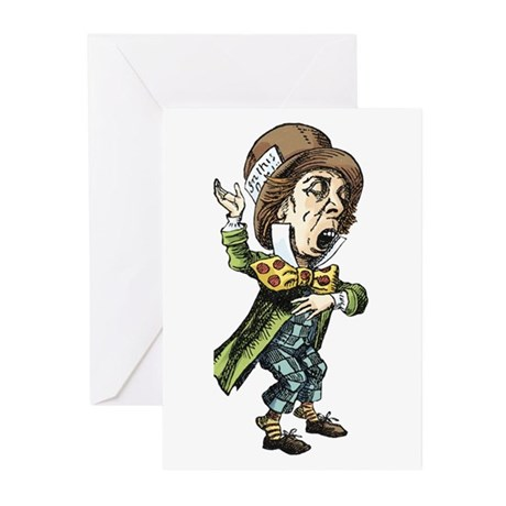 The Mad Hatter Greeting Cards (Pk of 20)