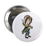 "The Mad Hatter 2.25"" Button"