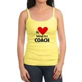 Heart belongs, coach Jr.Spaghetti Strap