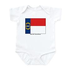 North Carolina State Flag Infant Creeper