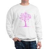 Winter Snowflake Tree Jumper