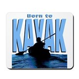 Born to Kayak Mousepad