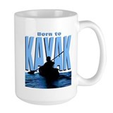 Born to Kayak Mug
