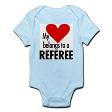 Heart belongs, referee Infant Creeper