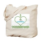 I Love Breaststroke! Tote Bag