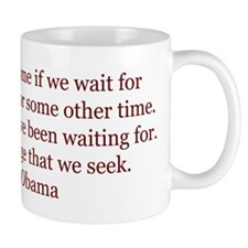 Obama Quote on Change Mug