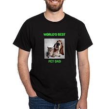 World's Best Pet Dad T-Shirt