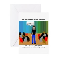 The Alto Section Greeting Cards (Pk of 10)