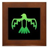 Green Thunderbird Framed Tile