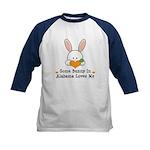 Some Bunny In Alabama Loves Me Kids Baseball Jerse