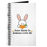 Some Bunny In Alabama Loves Me Journal