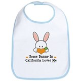Some Bunny In California Loves Me Bib