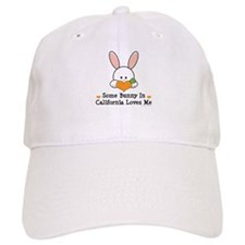 Some Bunny In California Loves Me Baseball Cap