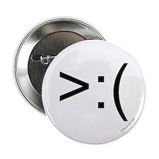 ">:( emoticon 2.25"" Button (10 pack)"
