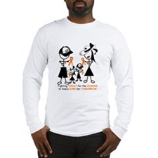 Leukemia Awareness Long Sleeve T-Shirt