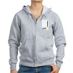 Astronaut Evolution Women's Zip Hoodie