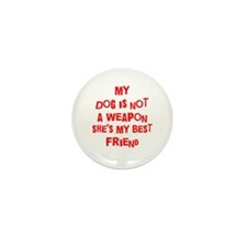 Cute Badge dogs Mini Button (100 pack)