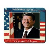Reagans 100th Birthday Mousepad