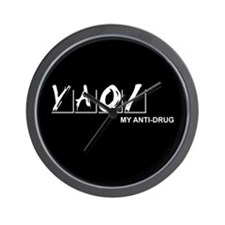 Yaoi Is My Anti-Drug Wall Clock