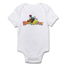 Funny Felix the cat Infant Bodysuit