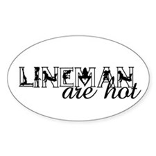 Funny Lineman Decal