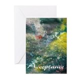 ACCEPTANCE Greeting Cards (Pk of