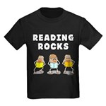 Reading Rocks Kids Dark T-Shirt