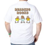 Reading Rocks (back) Golf Shirt